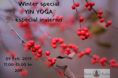 Yin yoga con Arantza – Clase especial de invierno