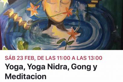 yoga,yoga nidra,gong y meditacion