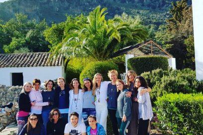 Nuestro retiro de yoga celebrado en Los Algarrobales fue todo un éxito ¡Gracias a todos!