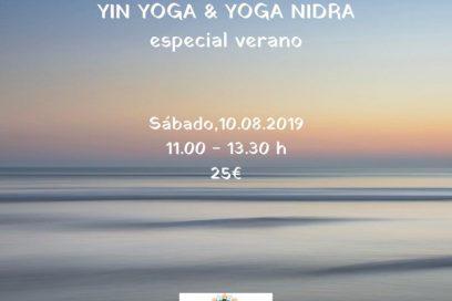 YIN YOGA & YOGA NIDRA especial verano