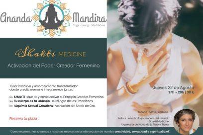 Shakti Medicine : la activacion del poder femenino