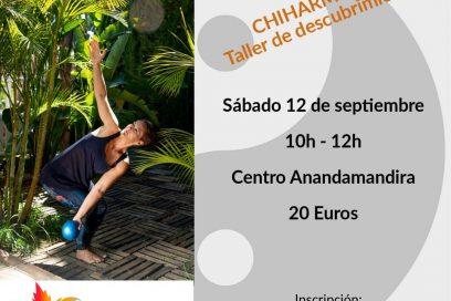 Chiharmonie-Taller de descubrimiento 12/09